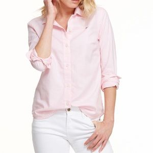 Vineyard Vines Pink Oxford Shirt